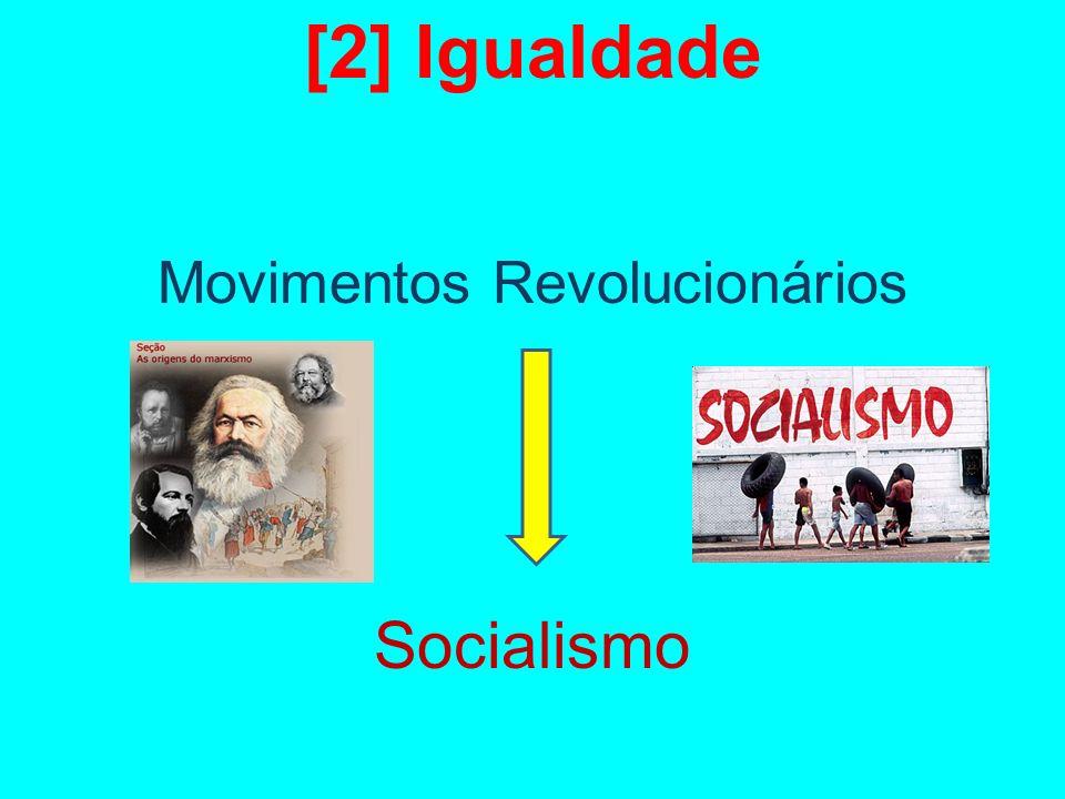 [2] Igualdade Movimentos Revolucionários Socialismo